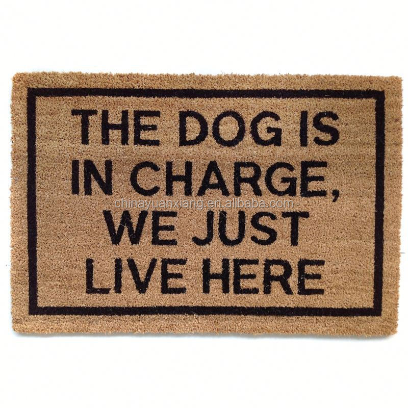Best Front Door Tag Coir Mat