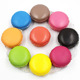 Best selling products macaron squishy buns squeeze food toy
