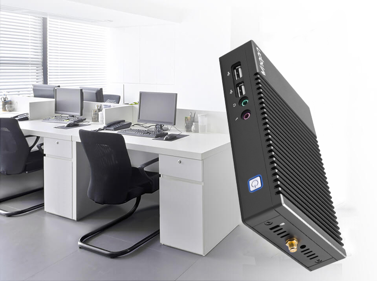 Vnopn fanless ultra low power mini pc con z8350 cpu VDI VMware protocollo