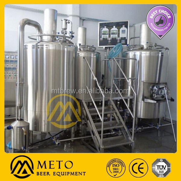Industrial 800L beer brewing equipment, beer machine, craft beer industry for sale