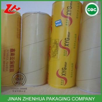 Clear Pvc Film Roll Food Wrapping Film Pvc Cling Film Color Plastic Wrap -  Buy Color Plastic Wrap,Best Fresh Wrap,Clear Pvc Film Roll Product on