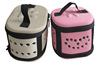 Small easy carrier travel mouse fabric eva pet bag/case