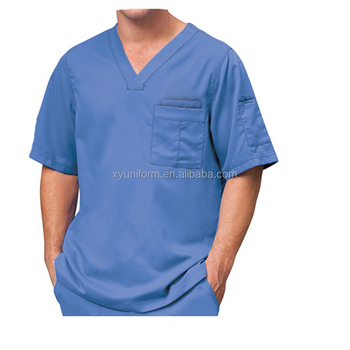 18b1c394b85 Hospital Surgical Scrubs Nurse Uniform Men Denim Scrubs - Buy ...