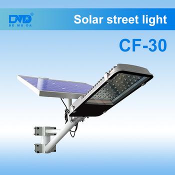 Outdoor High Lumen Integrated Motion Sensor Led Street Garden Solar Lights Light Spot Wind