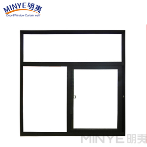 Aluk System aluminum sliding window with EPDM Rubber strip