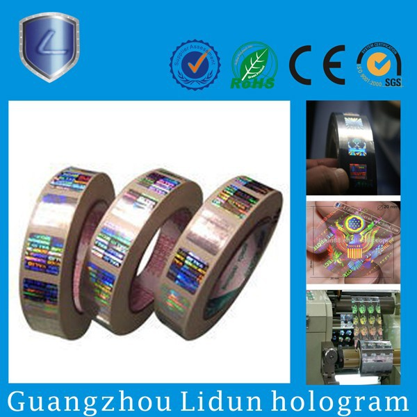 different types of hologram sticker