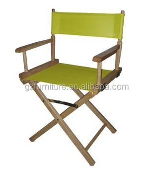 Hacer Silla Del Director Plegable De Madera Director Silla Alta - Como-hacer-un-sillon-de-madera