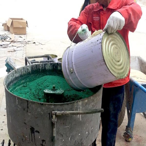 Polyurethane Resin Binders Waterproof Glue Rubber Crumb