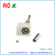 Right angle Crimp RF Fakra B white /9001Jack Female connector Radio for cable RG316 RG174 LMR100