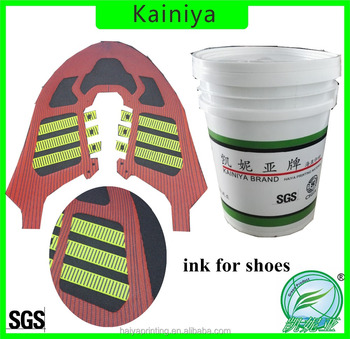 Scratch Resistance Shoes Surface 3D Effect Ink for Screen Printing