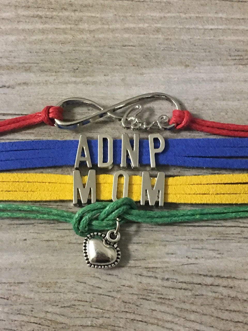 Autism ADNP Mom Bracelet, Autism Awareness Jewelry, Makes the Perfect Gift for Mom