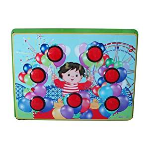 I DEPOT PLAY COLORFUL BALLOON - WALL ACTIVITY PANEL FOR TODDLERS IM06