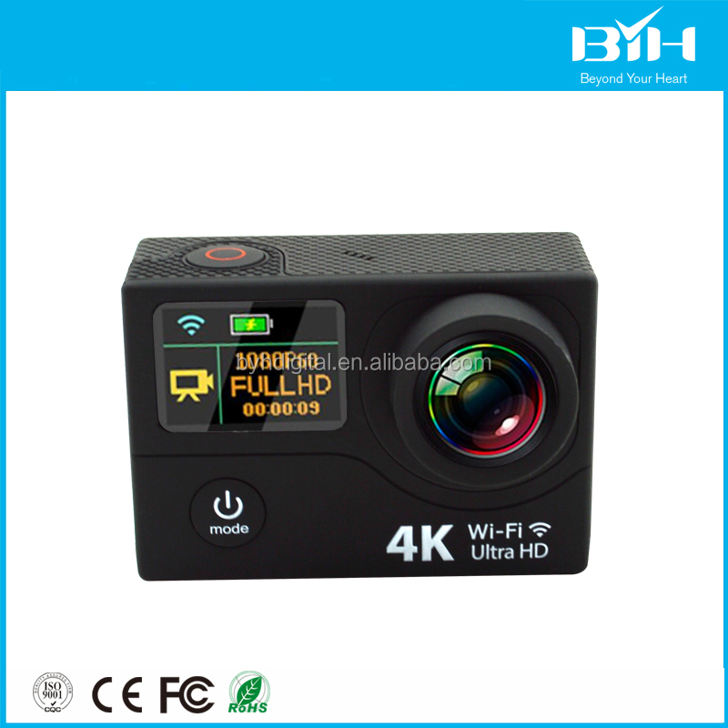 action camcorders waterproof camera go pro capture 4K video at 30fps action cam sports camera