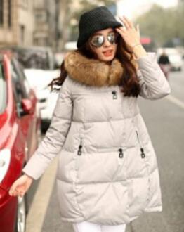 Пуховик длинная, 5 цветов зима женщины куртка надьямарош мех воротник капюшон парка пальто плащ толстый куртка CC2170W