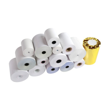 Hot sale thermal receipt paper factory supply 57x40 cash register pos thermal roll