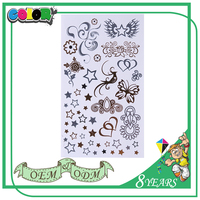 Top Selling 100% Warranty Super Price Oem Design Special Temporary Sticker Body Tattoos