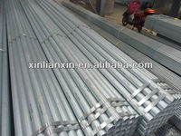 What is the composition of galvanized pipe