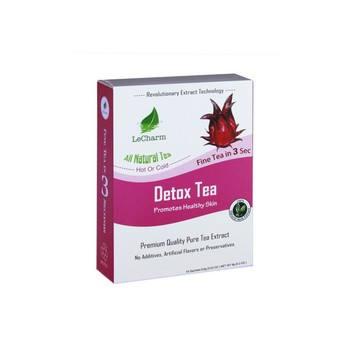 100% Herbal Detox Tea Rose Extract Instant Black Tea for Removing Body Toxin