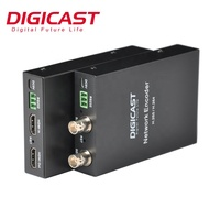DIGICAST Low Cost 4K H265 HEVC H.264 SDI input SDI loop out Encoder IPTV for Camera to Internet Live Transmission