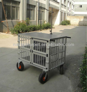 Aluminum Pet Trolley with extra big wheels