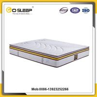 Go sleep home furniture pocket spring latex luxury mattress