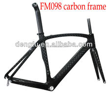 Dengfu Carbon Frame FM098, super light carbon fiber road bike frame, road racing bicycle frame carbon FM098