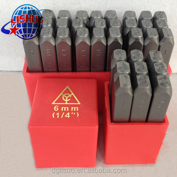 Numbers Letter Metal Punches Set /Figure And Letter Punch