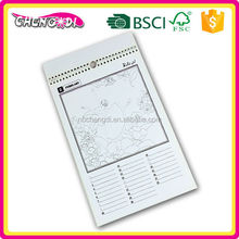 Hot Selling A3 Customizability promotional gift paper desk calendar