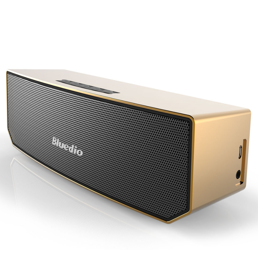 Bluedio BS-3 (Camel) Mini Bluetooth speaker Portable Wireless speaker Sound System 3D stereo Music surround(Golden)