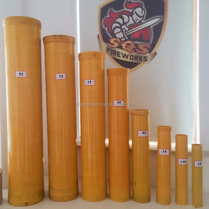 wholesale display shells pyrotechnic musical fiberglass fireworks mortar tubes
