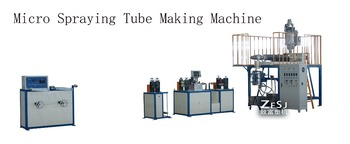 Micro spraying hose making machine