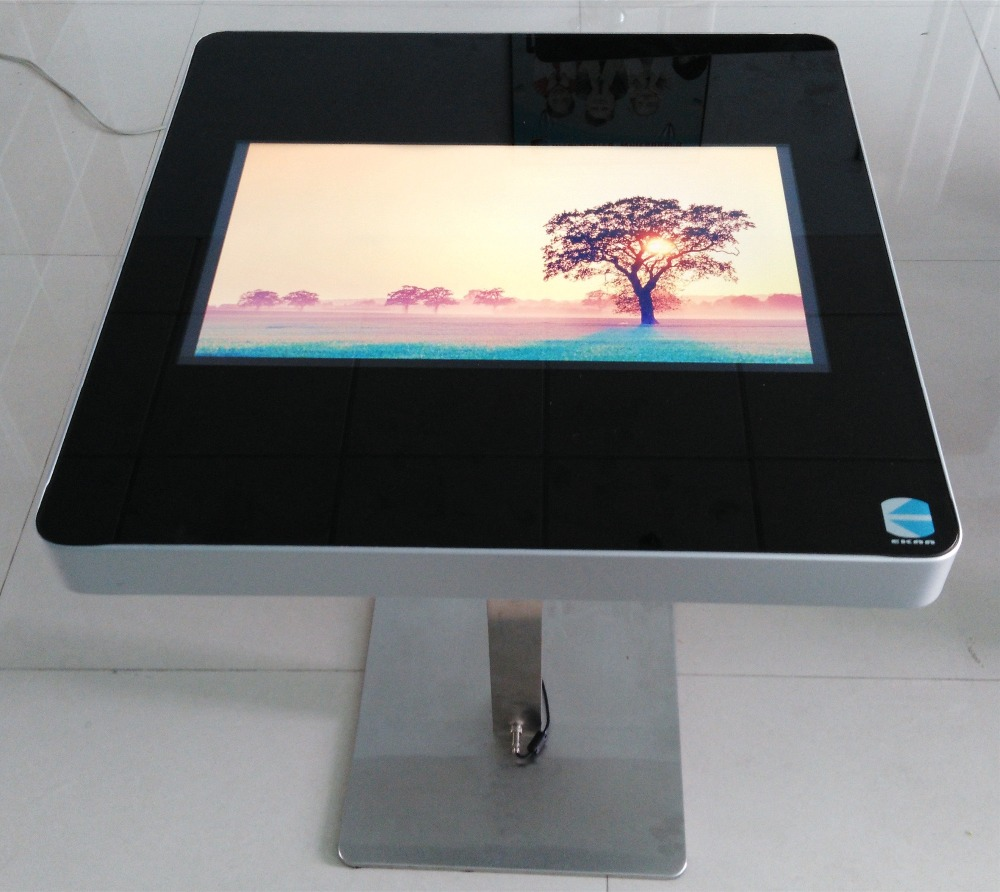 EKAA android/windows system 1080p interactive smart multi touch table for smart entertainment/ negotiate