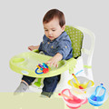 Free Shipping Children s Meal Chair Portable Multifunctional Adjustable Folding Dining Chair