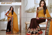 INDIAN BOLLYWOOD SARIS WEDDING WEAR DRESSES FROM INDIA