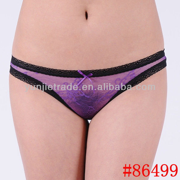 Promotion Sexy lady panties sexy sheer lace women ...