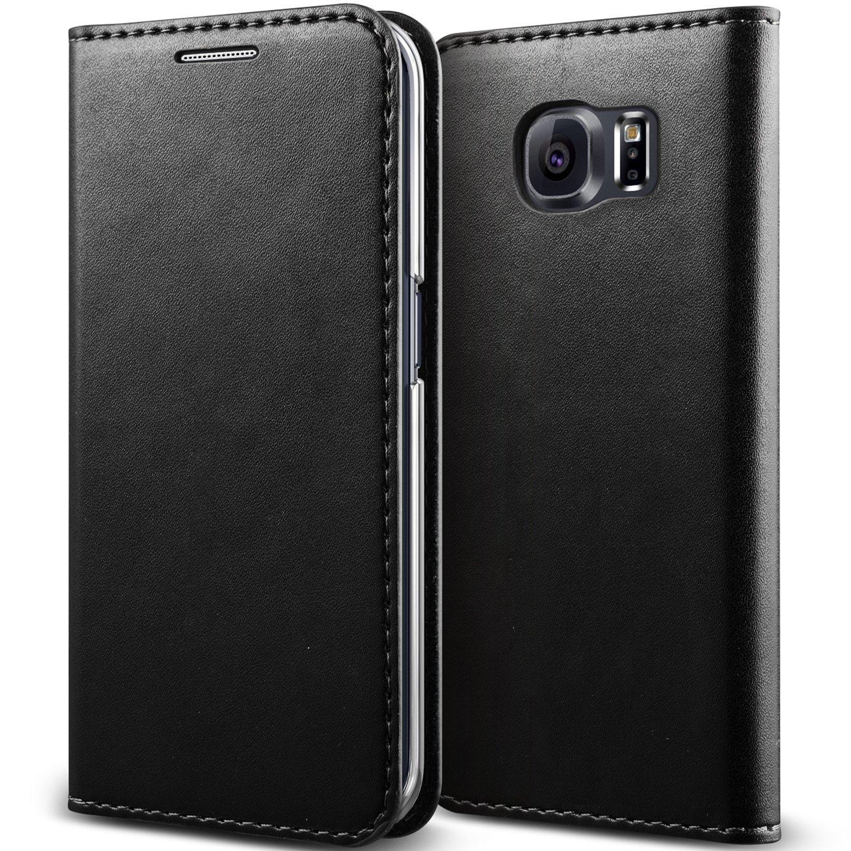 Galaxy S6 Edge Case, Verus [Crayon Diary][Black] - [Leather Wallet][Kickstand][Slim Fit] For Samsung Galaxy S6 Edge