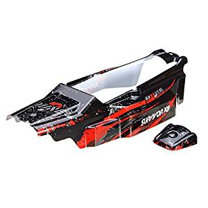 New HBX 1/12 12680 Buggy Body Shell Red SURVIVOR XB Car Parts By KTOY
