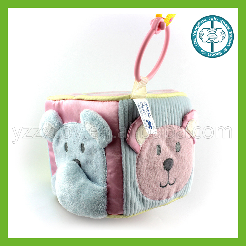 Baby sleeping toy animal hanging bells with pleasant sound