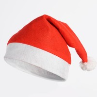 Non-woven Fabrics Competitive Christmas Hat