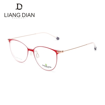 d0a042c96b9b Top quality wholesale beautiful fancy cute soft round optical glasses frames  for glass optics