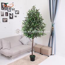 Plastic wholesale artificial olive trees for home decoration