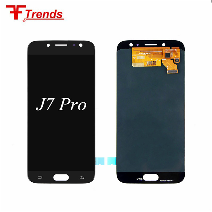 Hot Sell 100% Original New Mobile phone lcd screen for Samsung j7 pro lcd touch screen
