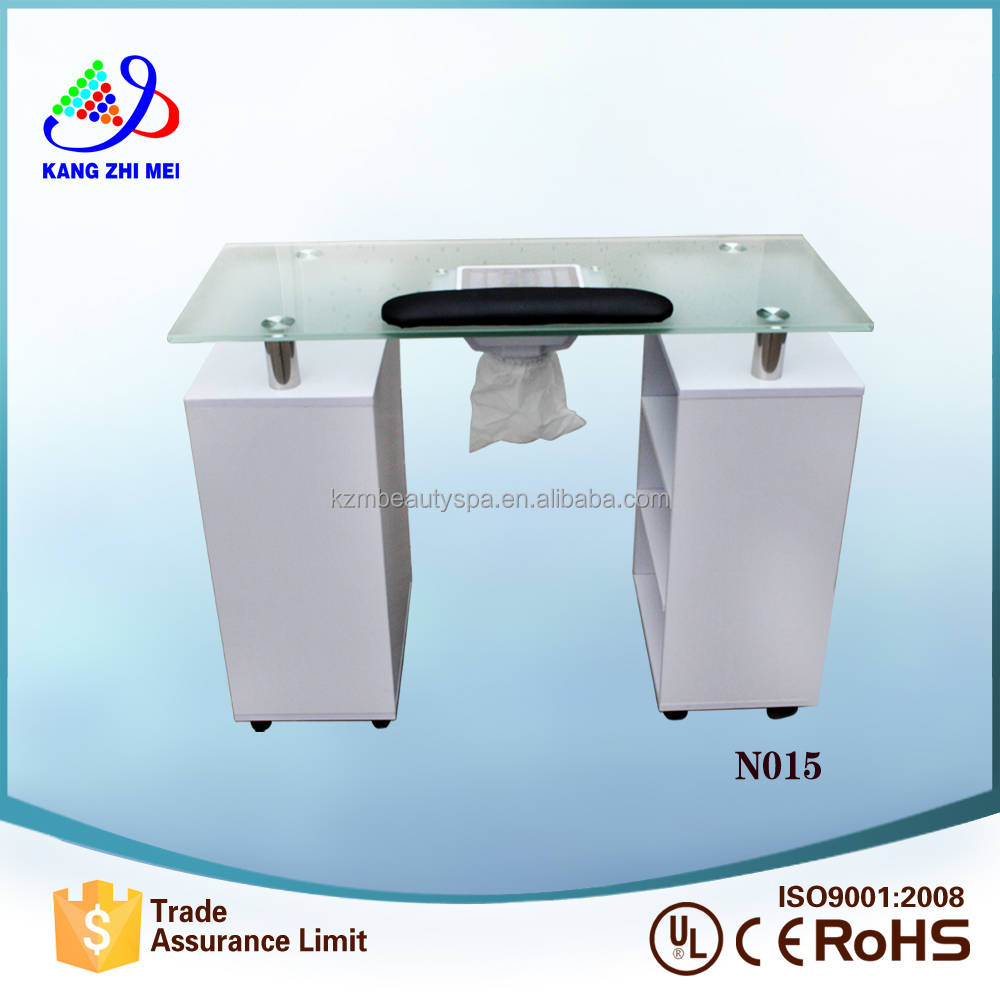 2017 hot selling beauty nail supplies manicure table station for nail supplies N015