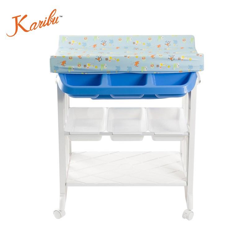 veiligheid pm3319 commode met bad mat zacht en draagbaar en opslag, Badkamer