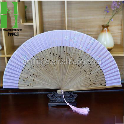 Coperate promotion gifts folding silk hand fan