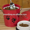 big size metal pet food can/pet food container