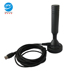 VHF UHF Indoor Outdoor Base TV Antenna Magnet with RG174 Cable for Car