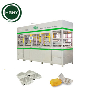 high quality hghy egg carton boxes making machine from China