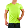 mens cooltech fitness activewear tapered tee