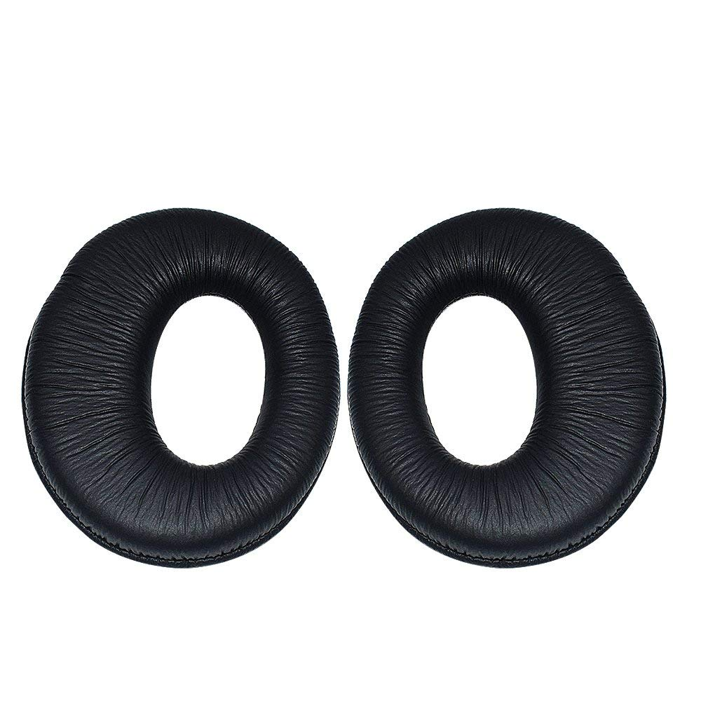 Learsoon Replacement Earpads Ear Pad Cushion Cover Fit Sony MDR-RF970R 960R RF925R RF860F RF985R Headphones (Black)